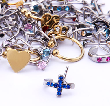 Wholesale Pack with Nose Piercings