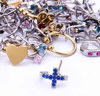 Super Sale Bundles, Super Sale Bundle Nose Piercings, Gold Plated Surgical Steel 316L