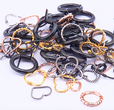 Super Sale Bundles, Super Sale Bundle Piercing Rings, Gold Plated Surgical Steel 316L, Rosegold Plated Surgical Steel 316L, Surgical Steel 316L