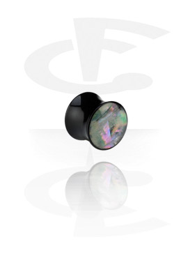 Mother of Pearl Flared Plug