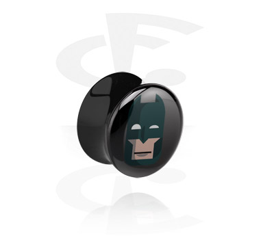 Musta flared-plugi