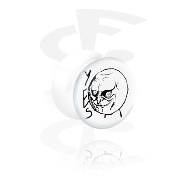 Witte flared plug
