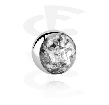 Kulki i inne zakończenia, Glitterline Ball, Surgical Steel 316L