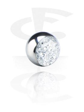 Kuglice i zamjenski nastavci, Glitterline Ball, Surgical Steel 316L