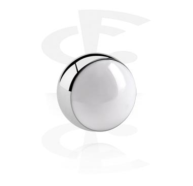 Balls & Replacement Ends, Enamelled Ball, Surgical Steel 316L