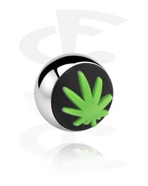 Ball with silicone attachment