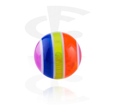 Balls & Replacement Ends, Pop Layer Ball, Acryl
