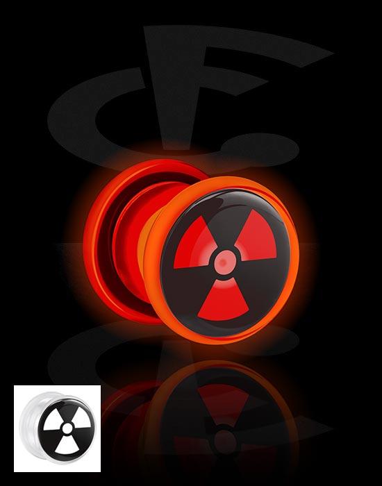Tunnel & Plugs, LED Tunnel , Acryl