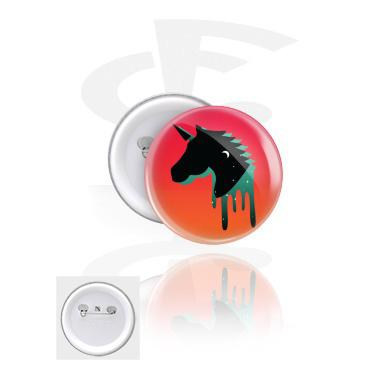 Ansteck-Button