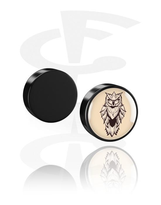 Imitacja biżuterii do piercingu, Magnetic Plug, Acrylic