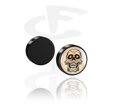 Fake plug magnética