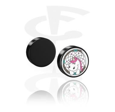 Fake Piercings, Magnetic Plug, Acrylic
