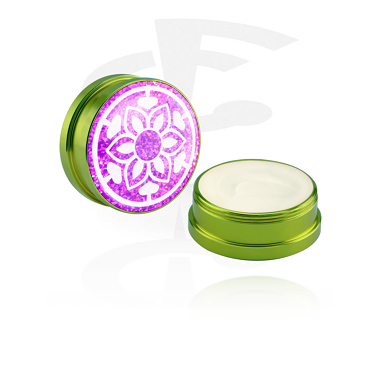 Cleansing and Care, Conditioning Creme and Deodorant for Piercings, Aluminium Container