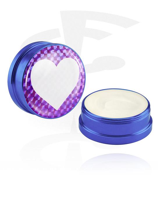 Pulizia e cura, Crema balsamo e deodorante per piercing, Contenitore in alluminio