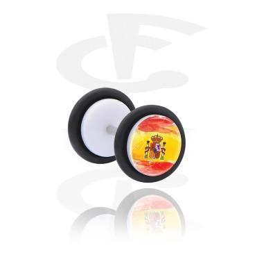 Fake Piercings, Fake Plug, Acrylic