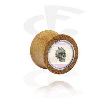 Double flared -plugi teräsyksityiskohdalla