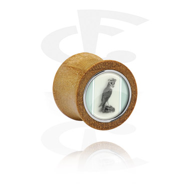 Double Flared Plug mit Stahleinlage