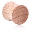 Tunele & plugi, Double Flared Plug, Wood