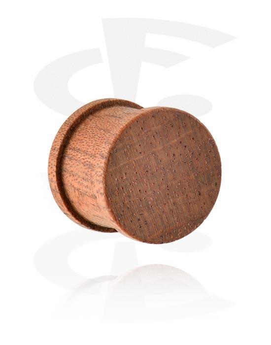 Tunneler & plugger, Ribbed Plug, Wood