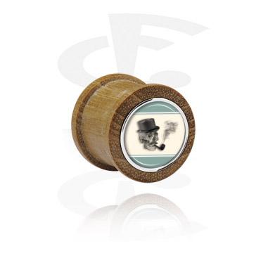 Ribbed Plug with Steel Inlay