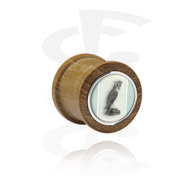 Ribbed Plug with Steel Inlay