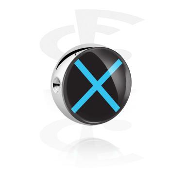 Bola com imagem para ball closure rings