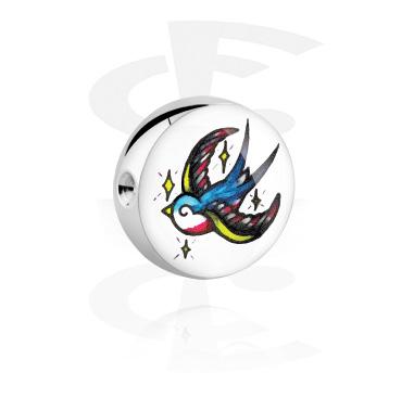 Bola con imagen para ball closure Anillo