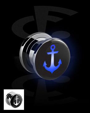 LED Plug with Anchor Motive