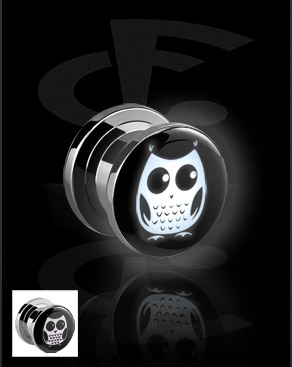 LED Plug com motivo de coruja