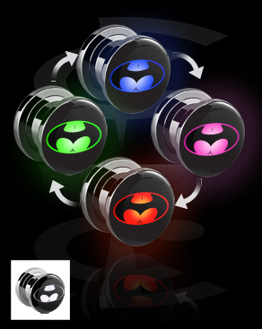 Kuvallinen LED-plugi