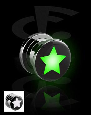 Плаг LED со звездой