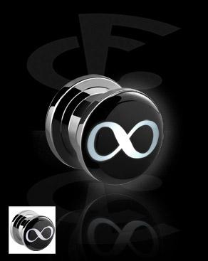 LED Plug com motivo de infinito