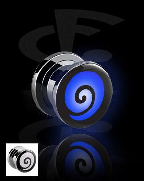 LED Plug com motivo