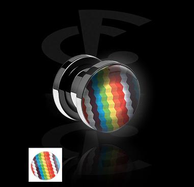 LED Plug mit Motiv