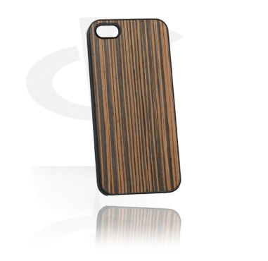 Mobile Case com Wooden Inlay