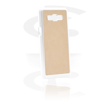 Mobile Case z Leather Inlay