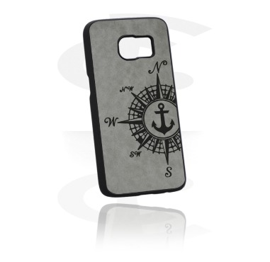 Mobile Case s Leather Inlay