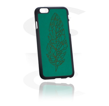 Mobile Case com Leather Inlay
