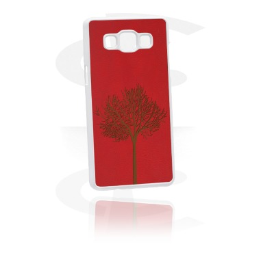 Mobile Case kanssa Leather Inlay