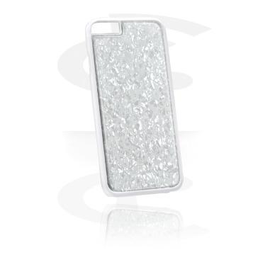Cover per cellulare con inserto di madreperla