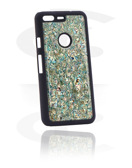 Phone cases, Mobile Case with Mother of Pearl Inlay, Plastic, Imitation Mother of Pearl
