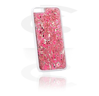 Pouzdro na mobil, Mobile Case s Mother of Pearl Inlay, Plastic, Imitation Mother of Pearl