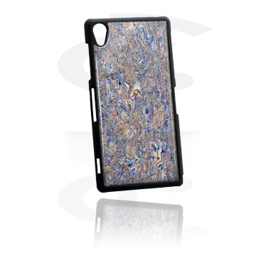 Phone case with Mother of Pearl inlay