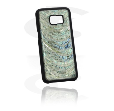 Mobile Case com real Mother of Pearl Inlay
