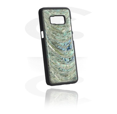 Mobile Case with real Mother of Pearl Inlay