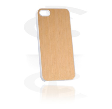 Mobile Case s Wooden Inlay