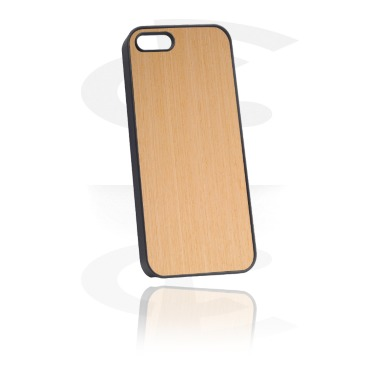 Mobile Case kanssa Wooden Inlay