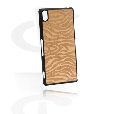 Mobile Case kanssa Wooden Inlay ja Lasered Wood Inlay