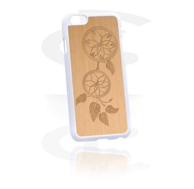 Handyhülle mit Holz-Inlay und Laser-Inlay