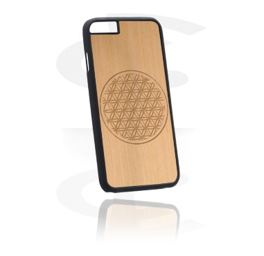 Phone Case with Lasered Wood Inlay